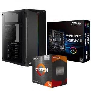 PC ARMADA RYZEN 5 5600G ASUS B450M-A II 16GB 500GB